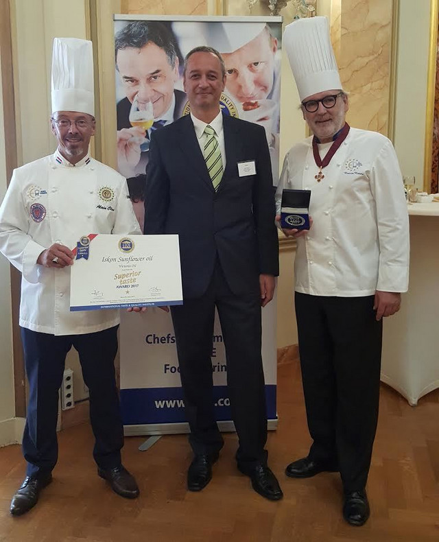 Superior Taste Award za Iskon ulje