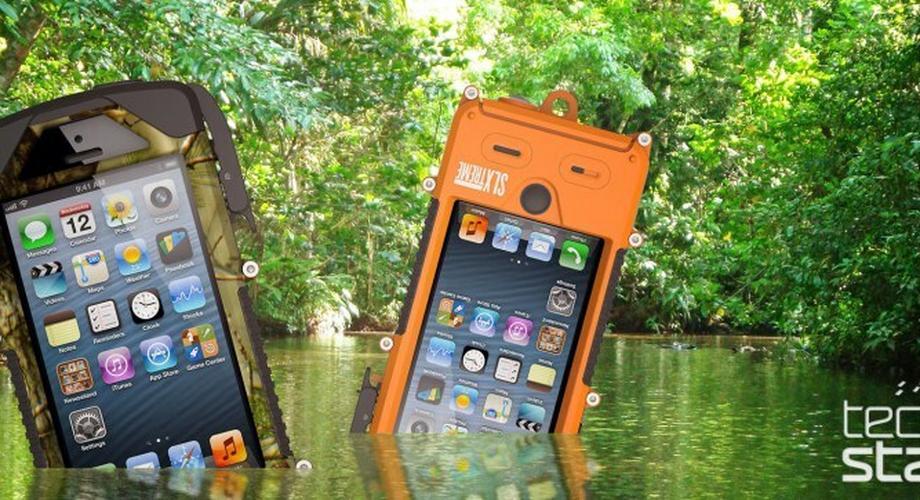 SLXtreme 5: Outdoor-Case mit Solar-Power für iPhone 5/5s