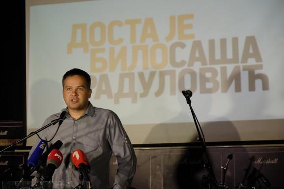 Aleksandar Stevanović, potpredsednik pokreta DJB