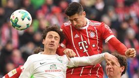 Bundesliga: Robert Lewandowski nie do zatrzymania na Allianz Arenie