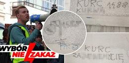 Groźby śmierci i nazistowskie symbole na bloku asystenta posłanki. Neonaziści polują na Patryka Kurca?