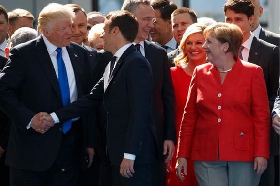 Tramp je zvao i Makrona i Merkelovu
