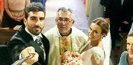 Szalone selfie ze ślubu gwiazdora