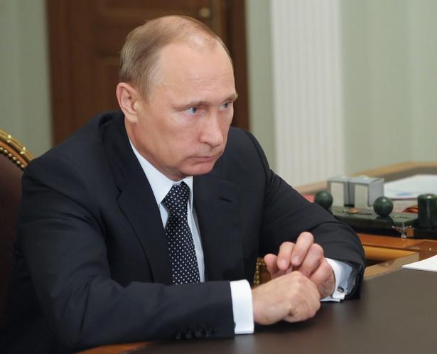 Władimir Putin EPA/ALEKSEY BABUSHKIN /RIA NOVOSTI/PAP