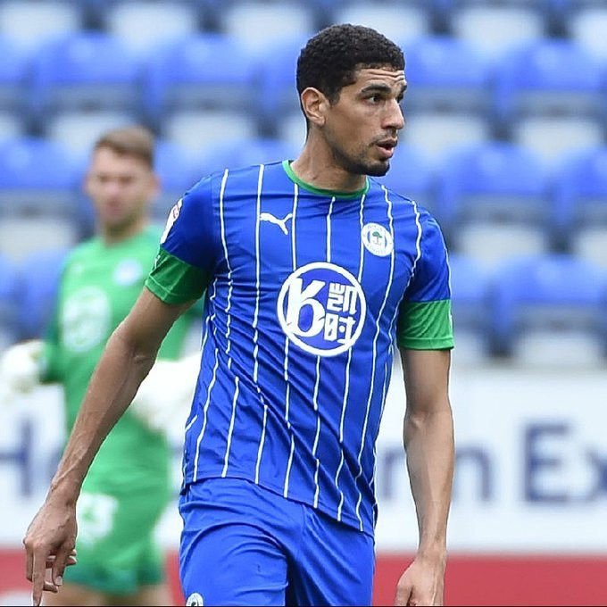 Leon Balogun could see his salary drop if he does not leave Wigan (Twitter/Wigan)