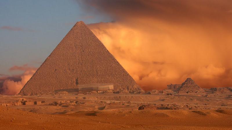 Egipt - piramidy