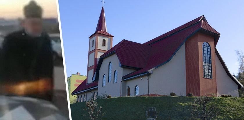 Skandaliczne zachowanie księdza pod kościołem w Wałbrzychu. Wszystko się nagrało