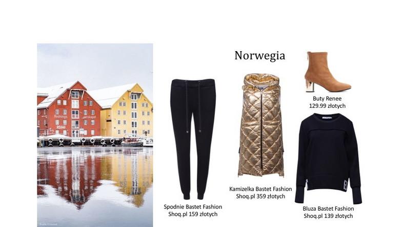 Norweski casual to z założenia prosty, stonowany styl, gdzie ulubione fasony w garderobach goszczą przez cały rok. Odnosząc się jednak do barwnych krajobrazów i architektury, stylizacje można mieszać dowolnie kolorystycznie i w prosty sposób przemycić nutę streetwearu nie zaburzając klasycznej nonszalancji.