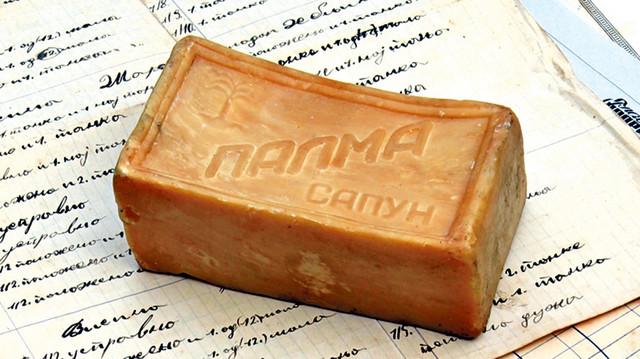 """Peraći sapun """"Palma"""" koji je proizveden po Žakovoj recepturi. I posle 60 godina ovaj sapun nije se uopšte promenio"""