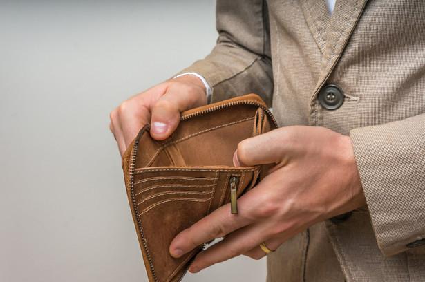 dług, kasa, pieniądze, bieda