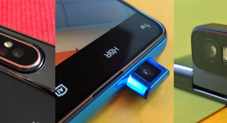 Flip, Slideout und Popup: Handy-Kameras im Überblick