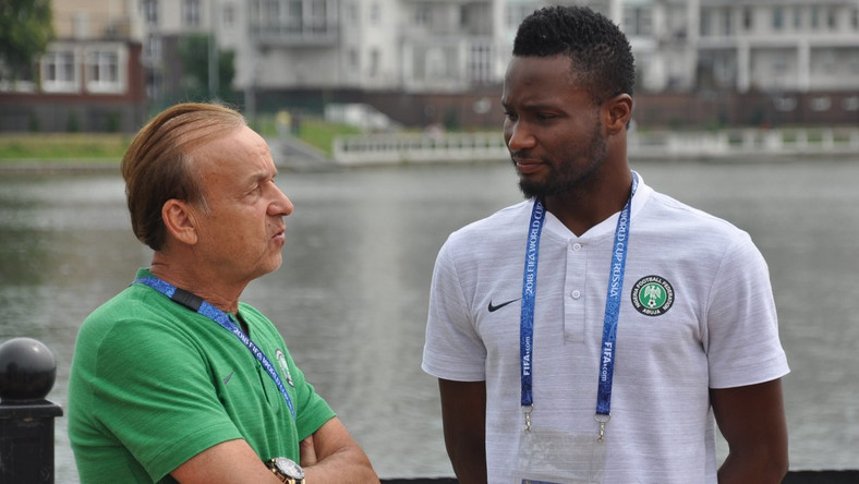 Super Eagles boss Gernot Rohr has named Mikel John Obi in his 25-man provisional squad for AFCON 2019