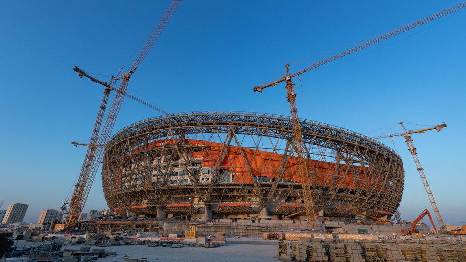 Budowa stadionu w Katarze