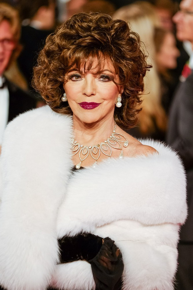 Joan Collins w 2015 roku