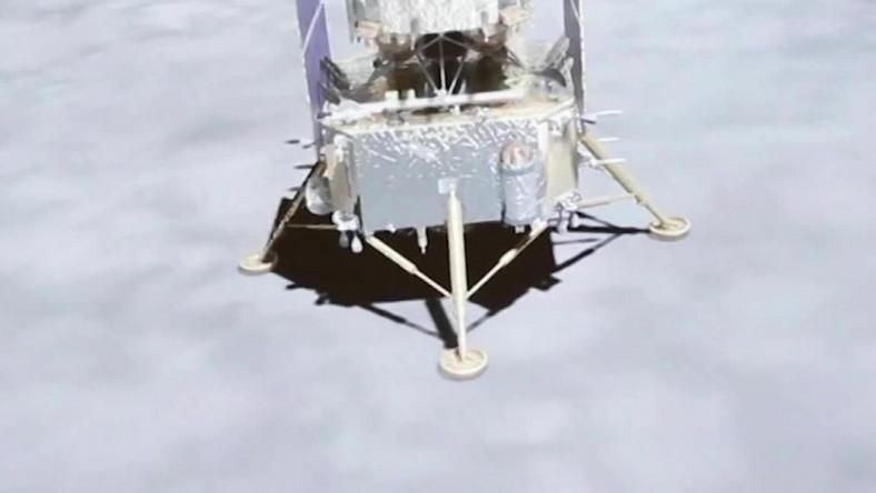Chińska sonda na Księżycu