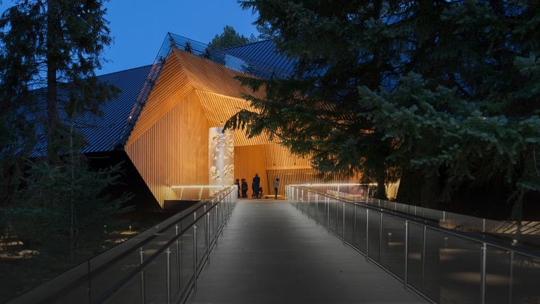 Audain Art Museum, Whistler, Kanada, Patkau Architects
