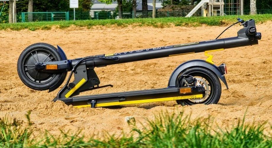 The Urban XC1: Schicker E-Scooter mit Luftreifen im Test