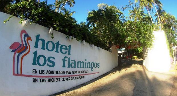Hotel Los Flamingos w Acapulco