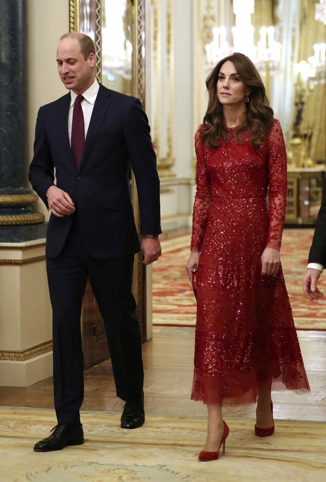 Kejt Midlton i princ Vilijam večeras u Bakingmeskoj palati