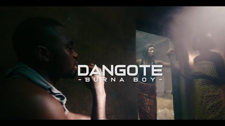 Burna Boy in Dangote Video [YouTube BurnaBoy]