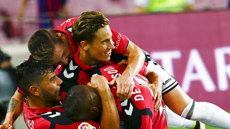 Radość piłkarzy Alaves