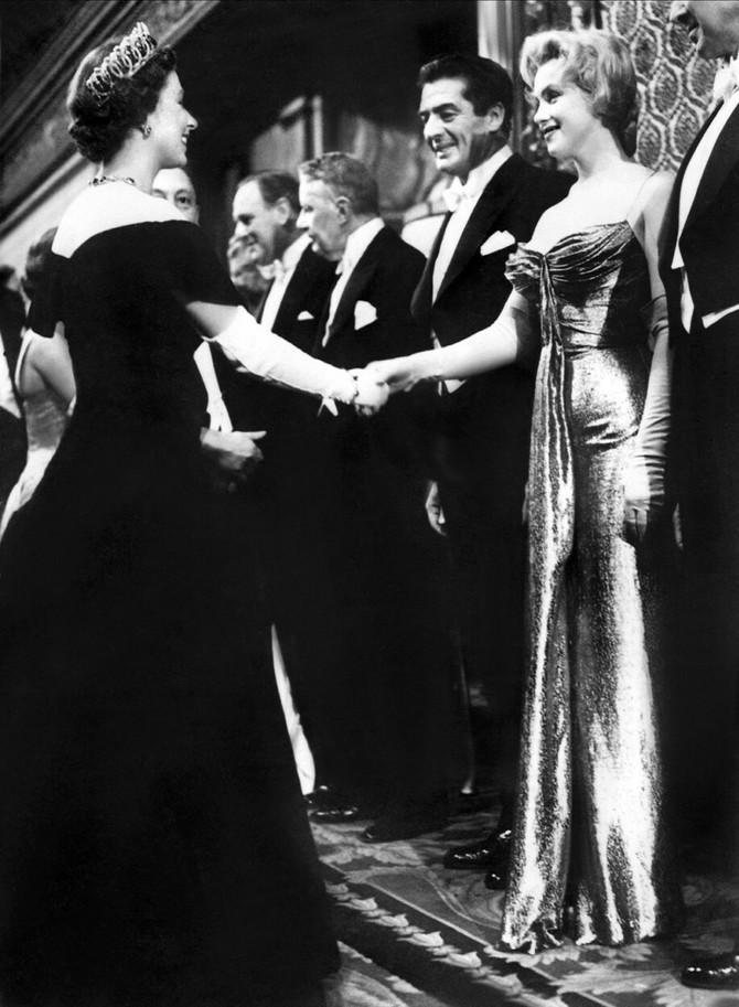 Susret kraljice i Merilin Monro
