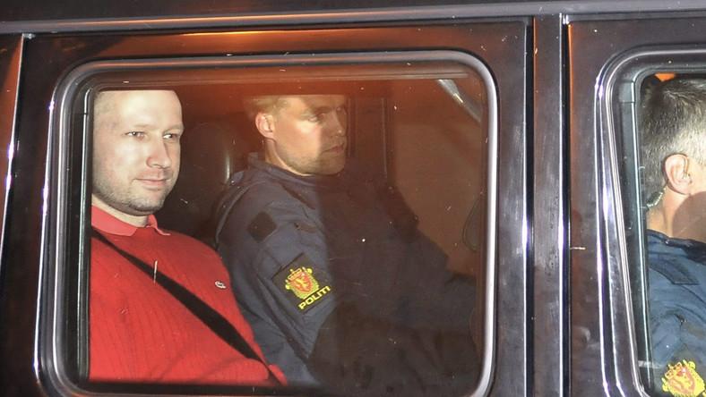 Osiem tygodni aresztu tymczasowego dla Breivika