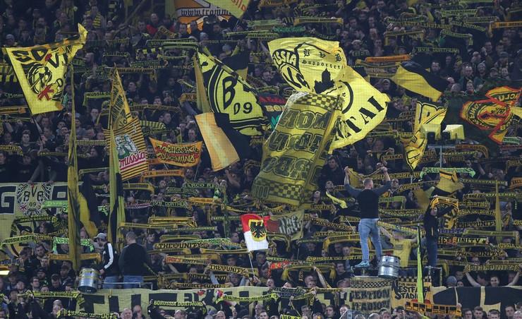 Borusija Dortmund navijači