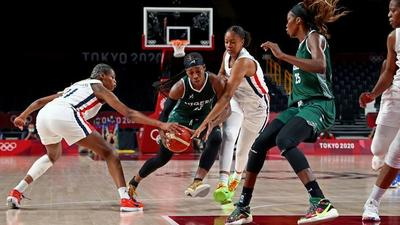Nigeria women's basketball team loses to France in their second game of the Tokyo Olympics