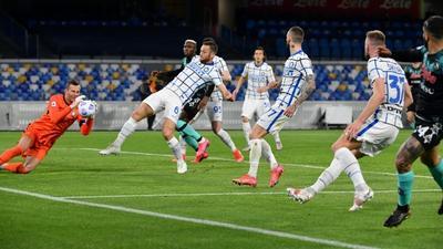 Inter's Eriksen snatches a point at Napoli