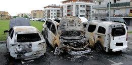 7 samochodów w ogniu! To podpalenie?