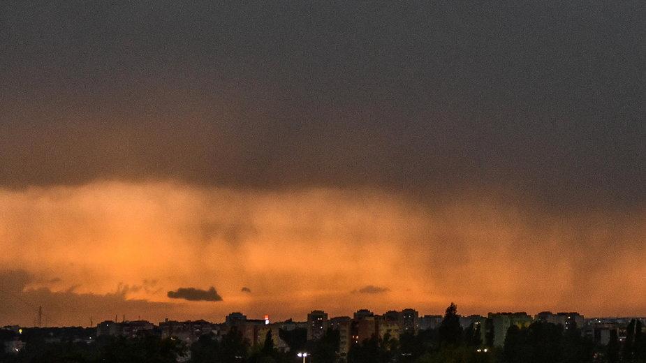 Czerwcowa burza w Lublinie