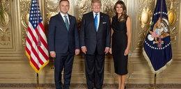 Melania Trump zapytała o to Andrzeja Dudę. Musiał się tłumaczyć