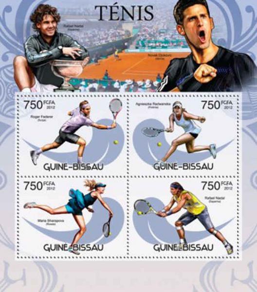 Radwańska na znaczkach pocztowych