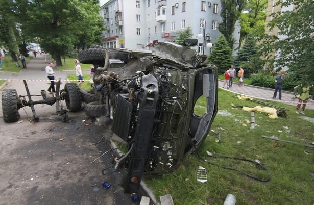 Ukraina twierdzi, że to Rosja organizuje i finansuje separatystów działających na wschodzie kraju EPA/PHOTOMIG