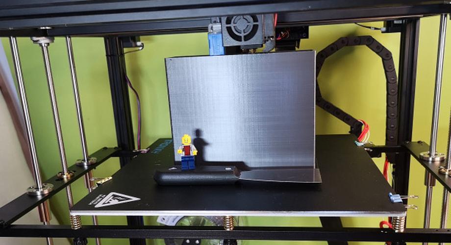 3D-Drucker Tronxy X5SA Pro im Test: massig Platz, viel Arbeit