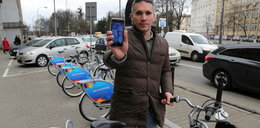 Wypożycz rower przez aplikację!