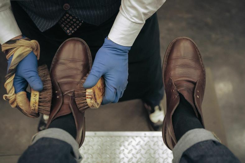 Upscale Shoe Shining