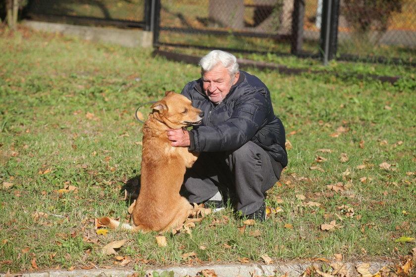 Pies i pan znów razem!