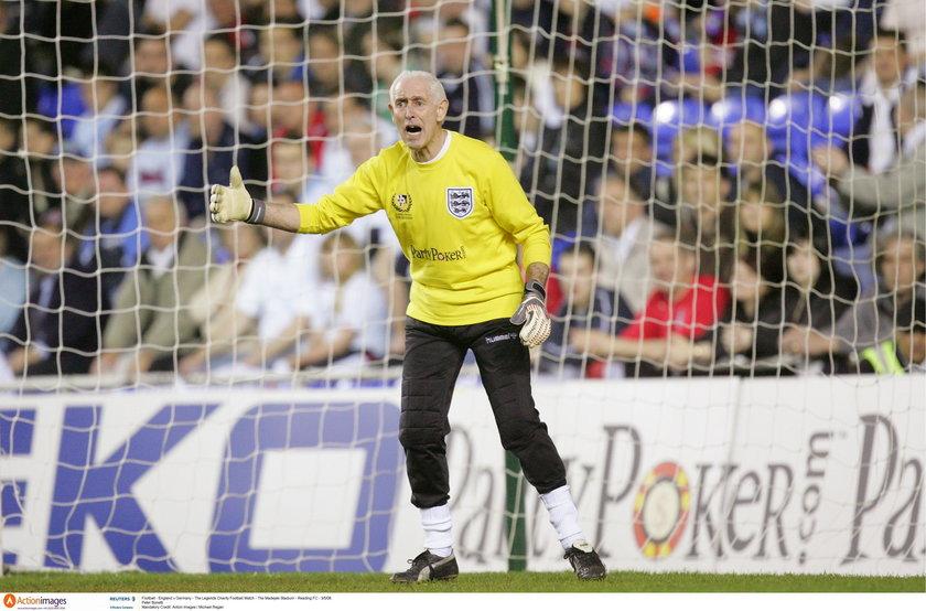 Nie żyje legenda angielskiej piłki Peter Bonetti