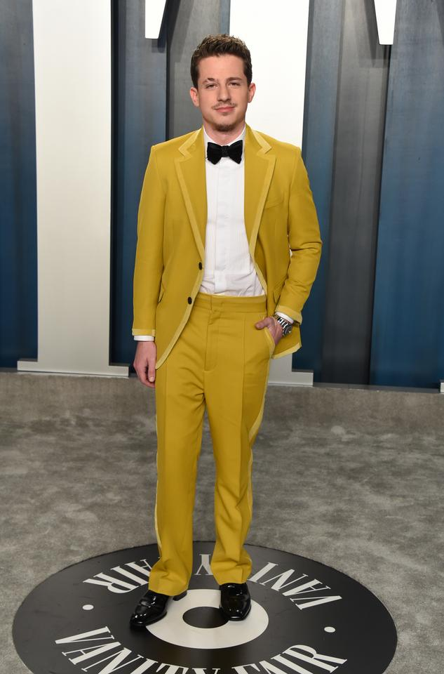 Oscary 2020: Charlie Puth na Vanity Fair Oscar Party