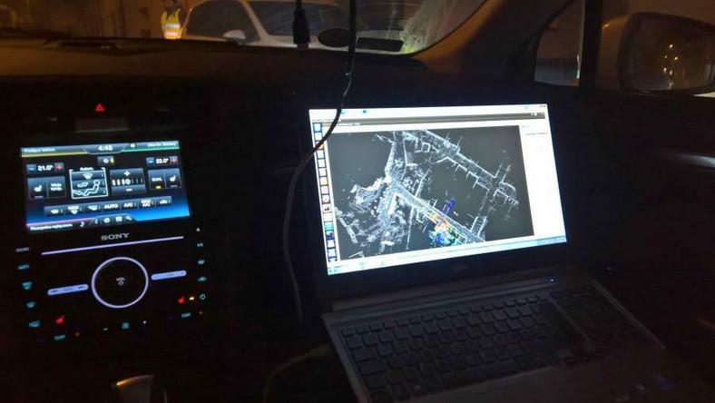 Samochody autonomiczne testowano w Jaworznie