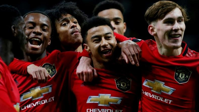 England's Jesse Lingard scored for Manchester United before they lost to Astana