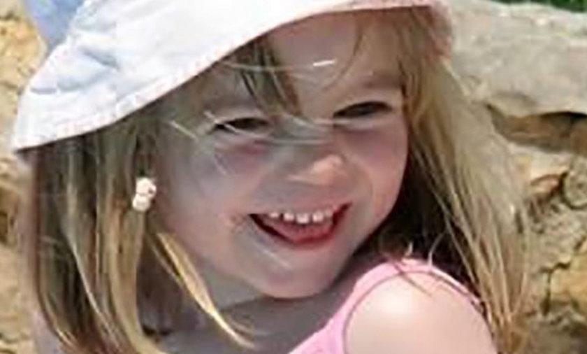 Zaginiona Madeleine McCann.