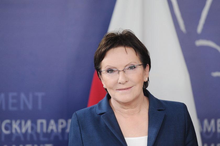 Ewa Kopacz, premier