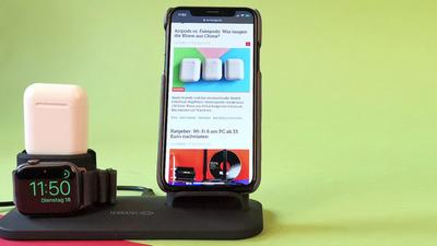 Ladedocks für iPhone, Apple Watch und Airpods