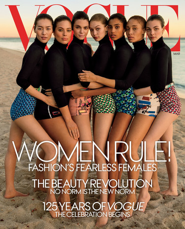 Vogue March - The Diversity Issue