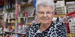 70-latka złapała złodzieja