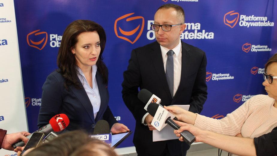 Marzena Okła-Drewnowicz i Artur Gierada