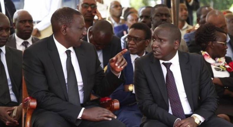 Kericho Senator Aaron Cheruyoit says Uhuru fallout with DP could go the Salva Kiir- Riek Machar way